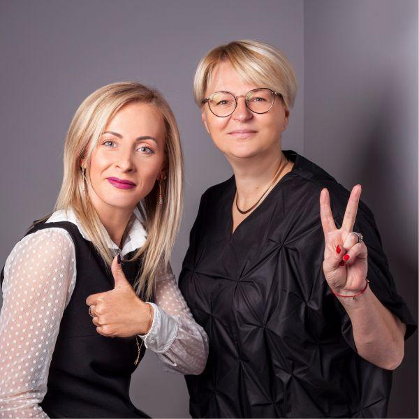 Виктория Яковлева и Евгения Романова
